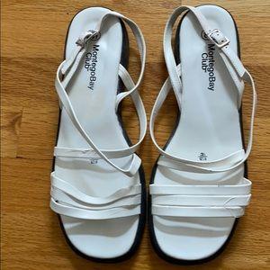 MontegoBay club white sandals